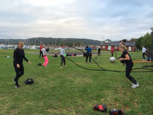 cross fit i hamnen